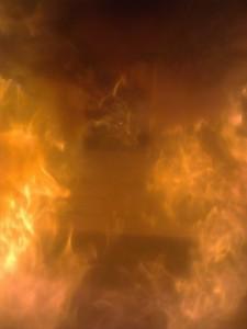 Biomass Boiler - inside